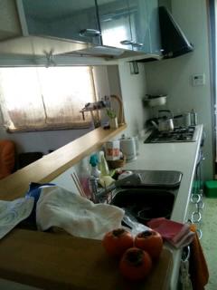 キッチン流し○