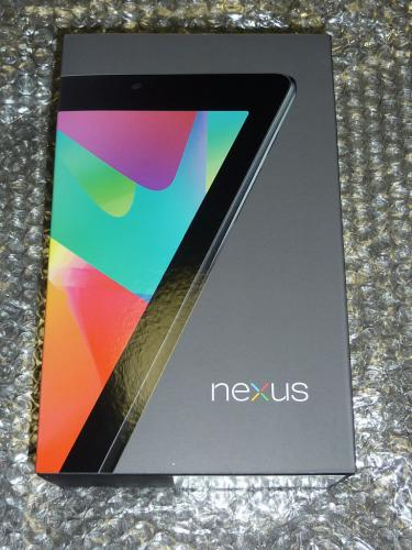Nexus 7のパッケージ