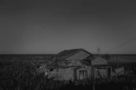 枝幸-浜頓別 オホーツク海沿いの廃屋