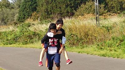 仲良しマラソン
