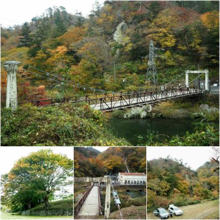 夏井川渓谷「紅葉ウォーキングフェスタ」3