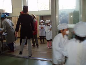 給食試食会2012(2)