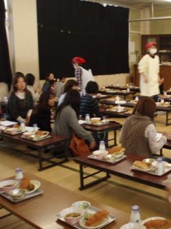 給食試食会2012(6)