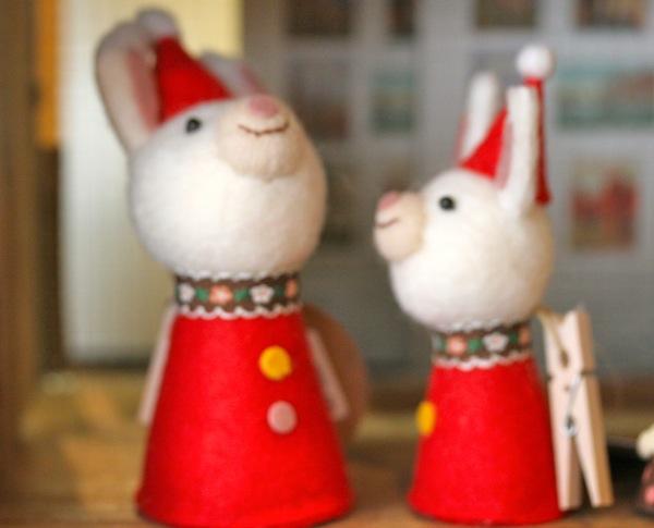 ウサギクリスマス
