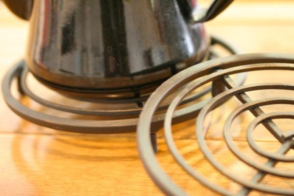 アイアン鍋敷き