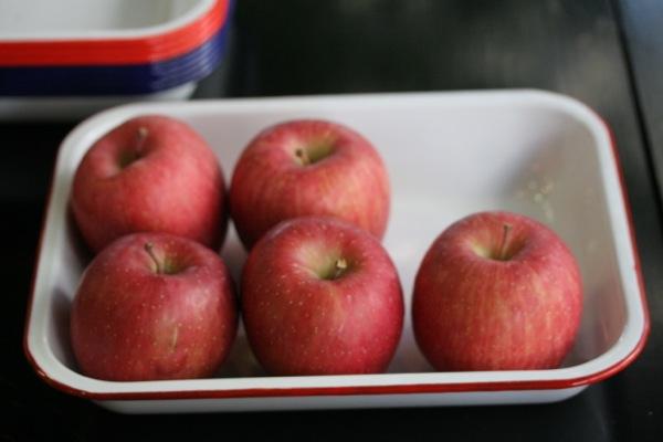 リンゴとバット