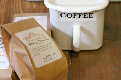 コーヒー豆とスットッカー