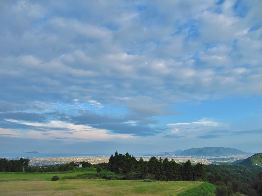 雲辺寺山麓からの風景
