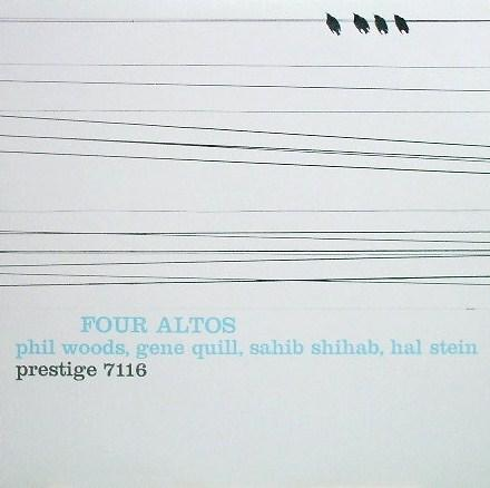 Phil Woods Four Altos