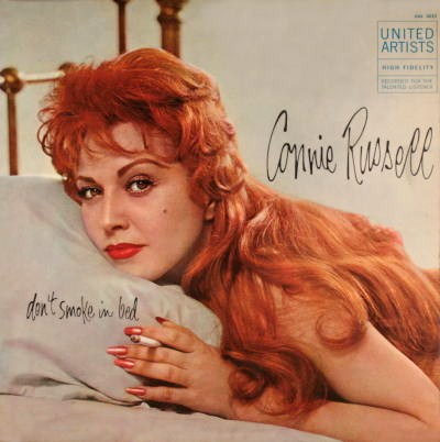 Connie Russell Dont Smoke In Bed United Artists UAL 3022
