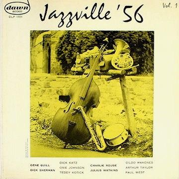 Jazzville 56 Vol.1 dawn DLP 1101