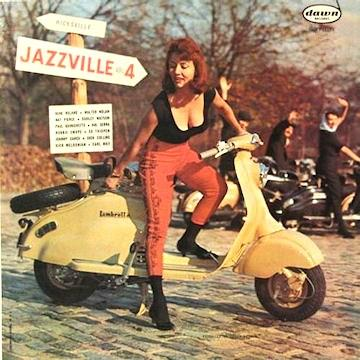 Jazzville Vol. 4 dawn DLP 1122