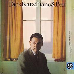Dick Katz Piano  Pen Atlantic 1314
