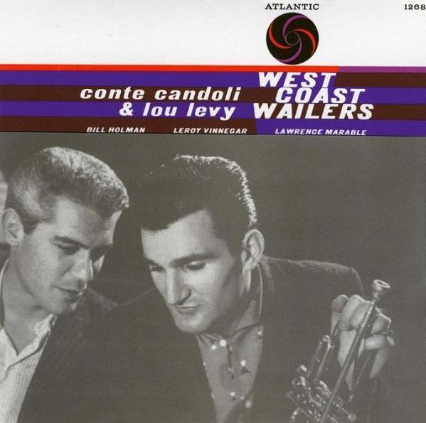 Conte Candoli  Lou Levy West Coast Wailers Atlantic 1268