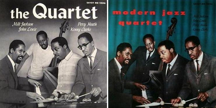 The Modern Quartet Savoy MG 12046