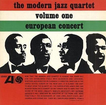 Modern Jazz Quartet European Concert Vol.1 Atlantic 1385