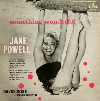Jane Powell Something Wonderful MGM E 3451