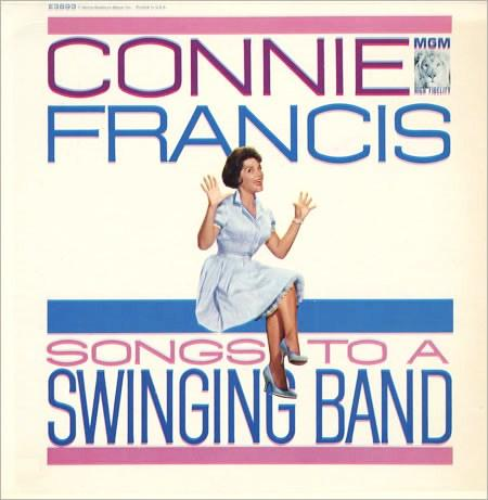 Connie Francis Songs To A Swinging Band MGM E 3893