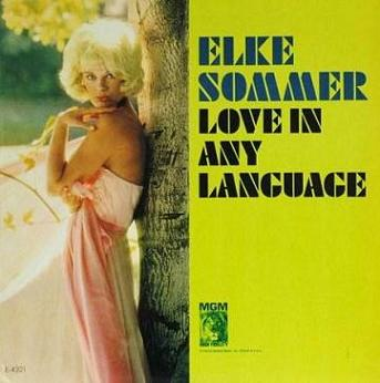 Elke Sommer Love In Any Language MGM E 4321