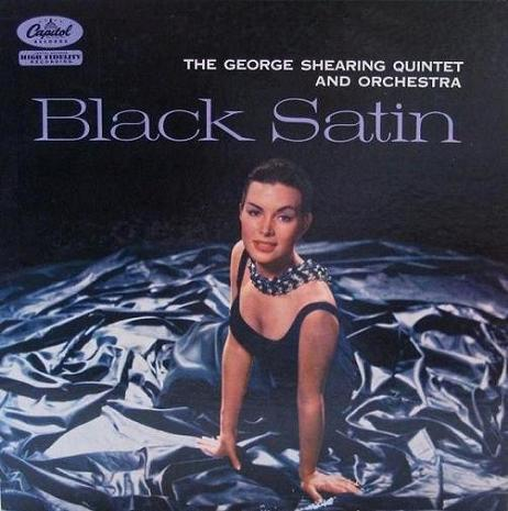 George Shearing Black Satin Capitol T 858