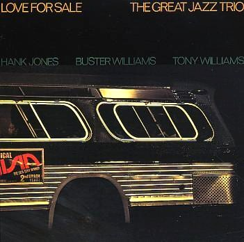 The Great Jazz Trio Love For Sale East Wind EW-8046