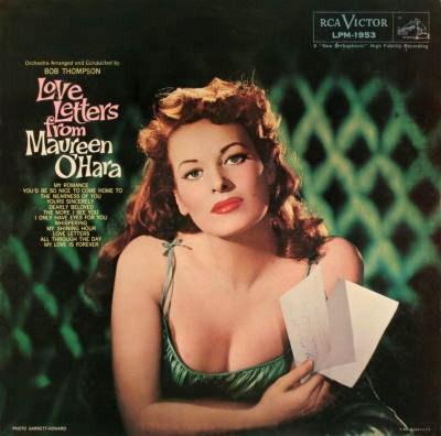 Maureen OHara Love Letters From Maureen OHara Rca Victor LPM-1953