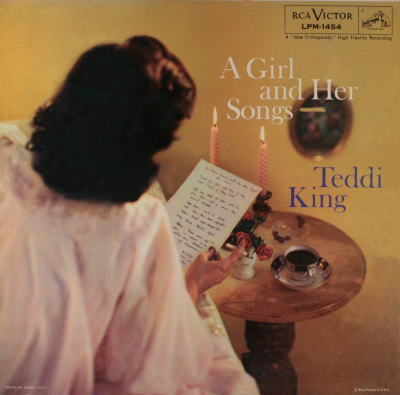Teddi King A Girl And Her Songs Rca Victor LPM-1454