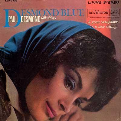 Paul Desmond Desmond Blue Rca Victor LSP-2438