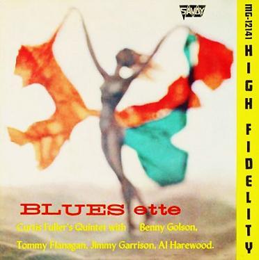 Curtis Fuller Blues Ette Savoy MG 12147