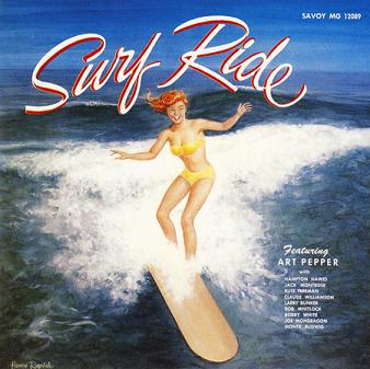 Art Pepper Surf Ride Savoy MG 12089