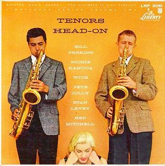 Bill Perkins Richie Kamuca Tenors Head-On Liberty LRP 3051