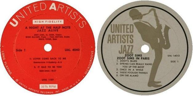 United Artists Label