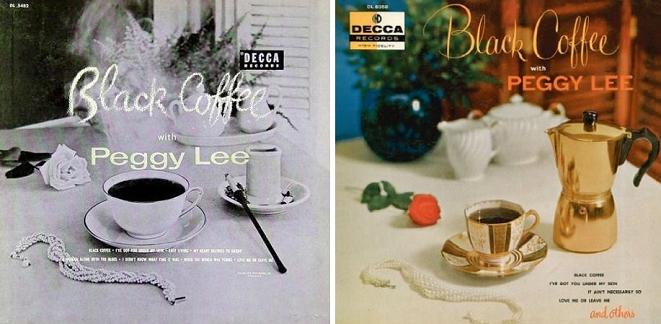 Peggy Lee Black Coffee With Peggy Lee Decca