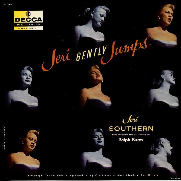 Jeri Southern Jeri Gently Jumps Decca DL 8472