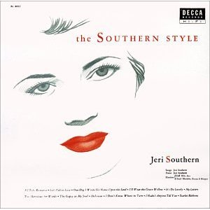 Jeri Southern The Southern Style Decca DL 8055