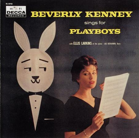 Beverly Kenney Sings For Playboys Decca DL 8743