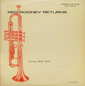 Red Rodney Returns Argo LP 643