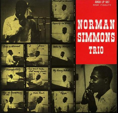 Norman Simmons Trio Argo LP 607