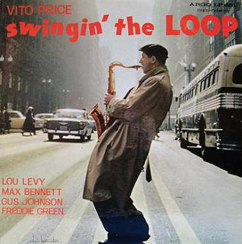 Vito Price Swingin The Loop Argo LP 631