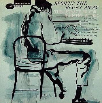 Horace Silver Blowin The Blues Away Blue Note BLP 4017