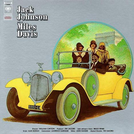Miles Davis Jack Johnson Columbia S 30455