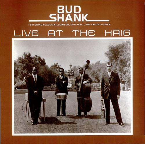 Bud Shank Live At The Haig Choice CRS 6830