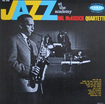 Hal McKusick Jazz At The Academy Coral CRL 57116