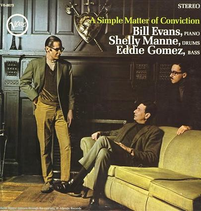 Bill Evans A Simple Matter Of Conviction Verve V6-8675
