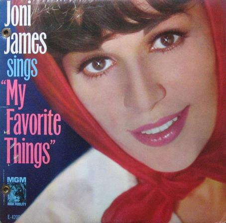 Joni James Sings My Favorite Things The Songs Of Richard Rodgers MGM E-4200