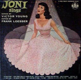 Joni Sings Songs By Victor Young Songs By Frank Loesser MGM E 3449