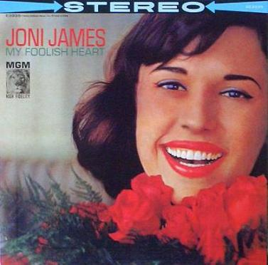 Joni James My Foolish Heart MGM SE 3935