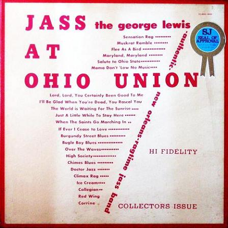 George Lewis Jass At Ohio Union