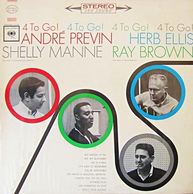 Andre Previn 4 To Go! Columbia CS 8818