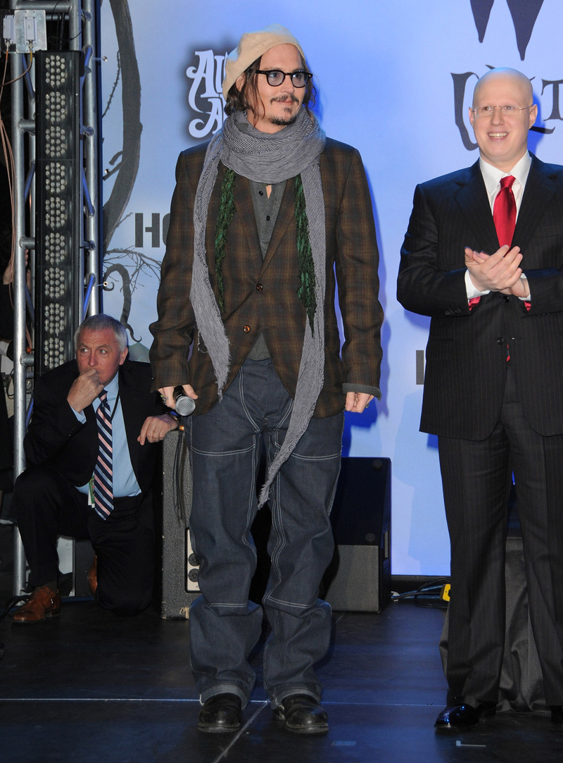 アリス ジョニーデップ マッドハッター ベオグラード映画祭 ジョニーデップ  TART OPTICAL タート ヒースレジャー オプティカル ゴールデングローブ ハリウッド